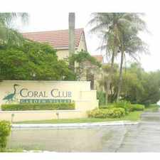 Rental info for 103 Southwest 103rd Lane #4211 in the Fountainebleau area