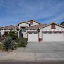 Rental info for Beautiful Single-Level 3 Bedroom plus Den, 2.5 Bathroom Home in the Heart of Chandler in the Chandler area