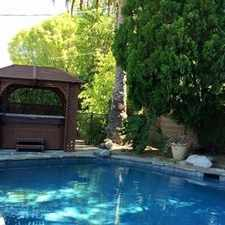 Rental info for Beautiful Spanish Style Home. in the Los Angeles area