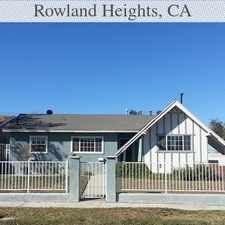 Rental info for 3 Bedrooms, 1,677 Sq. Ft. - In A Great Area. Wi... in the Rowland Heights area