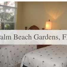 Rental info for First Floor Model Perfect Corner Unit. in the Palm Beach Gardens area