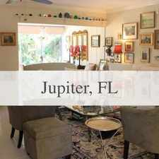 Rental info for Adorable ''english Cottage'' In The Heart Of Ju... in the Jupiter area