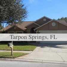 Rental info for Pet Friendly 3+2 House In Tarpon Springs