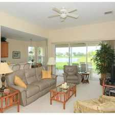 Rental info for Beautiful Lakefront Home In Desired Collier Club. in the Sebastian area