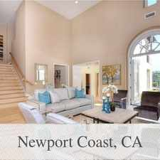 Rental info for 5 Bedrooms House - Located On The End Of A Cul-... in the Newport Beach area