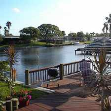 Rental info for S Finest! Space Coast 3 Bedroom With Dock And Pool