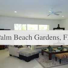 Rental info for House $3,300/mo - Ready To Move In. in the Palm Beach Gardens area