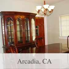 Rental info for Arcadia - Superb House Nearby Fine Dining in the Arcadia area