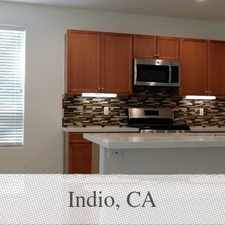 Rental info for Brand-new, Never Lived In, 4 Bed / 3 Bath Colinas! in the Indio area