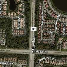 Rental info for SPECTACULAR TWO-STORY HOME ON OVERSIZED LOT. Wa... in the Palm Beach Gardens area