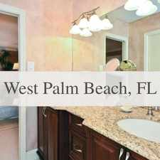Rental info for West Palm Beach, 2 Bed, 2 Bath For Rent in the Riviera Beach area