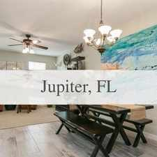 Rental info for Spacious 3 Bedroom, 3 Bath in the Jupiter area
