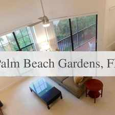 Rental info for House In Quiet Area, Spacious With Big Kitchen in the Palm Beach Gardens area