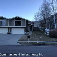 Rental info for 4687 Naniloa Dr in the Millcreek area