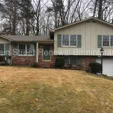 Rental info for 741 Vaughn Circle in the Birmingham area