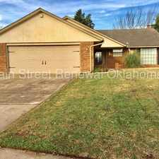Rental info for Beautiful Edmond Home With Huge Yard in the Oklahoma City area