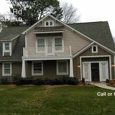 Rental info for 913 Sedgefield Rd in the Charlotte area