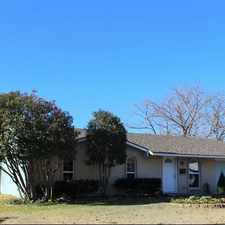 Rental info for 4057 Charter Drive, Garland, TX 75043 in the New West area