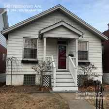 Rental info for 5431 Nottingham Ave. in the St. Louis area