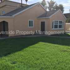 Rental info for Spanish Style Rehabbed Home! Must See in the Riverside area