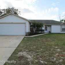 Rental info for 2748 W Covington Dr VOLUSIA