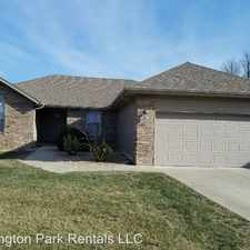 Rental info for 1338 S. Lexington Ave. in the Springfield area