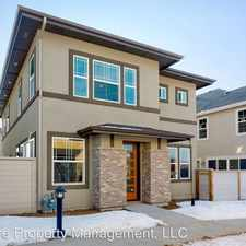 Rental info for 3652 S Pheasant Tail Way in the Boise City area