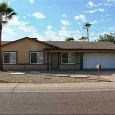 Rental info for Three BR With Pool in the Paradise Valley Oasis area