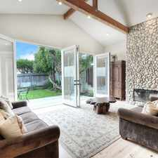 Rental info for BEAUTIFUL BEACH HOME IN THE HEART OF LAGUNA VILLAGE