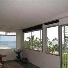 Rental info for House, 2 Bathrooms - In A Great Area. in the Honolulu area