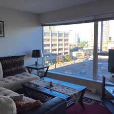 Rental info for Burrard St & W Broadway in the Vancouver area