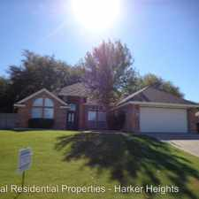 Rental info for 1602 Man O War in the Harker Heights area