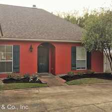 Rental info for 18641 W Lake Terrace in the Baton Rouge area