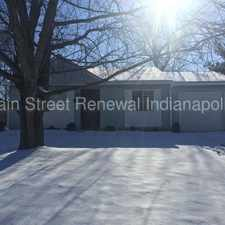 Rental info for 3503 Pleasant Lake Dr - Fenced in 3 Bedroom Ranch in the Indianapolis area