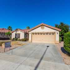 Rental info for 11412 E QUICKSILVER AVE - 3BR 2BA Signal Butte/Elliot - BEAUTIFUL SINGLE LEVEL MESA HOME! TONS OF EXTRAS INCLUDING GRANITE COUNTERS, GARDEN TUB, AND CLOSE TO SHOPPING AND RESTAURANTS! WILL NOT LAST LONG!