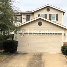 Rental info for 18218 Temple Hill Lane in the Houston area