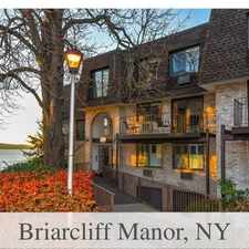 Rental info for Apartment For Rent In Briarcliff Manor.