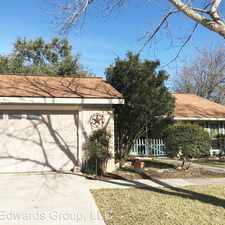 Rental info for 16218 Bear Run Street in the San Antonio area