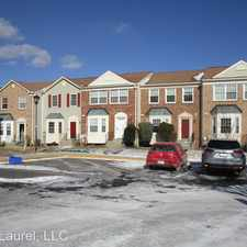 Rental info for 2746 Sweet Clover Ct in the Beltsville area