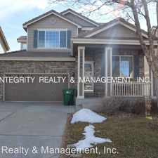 Rental info for 16254 E Geddes Pl in the Aurora area