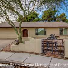 Rental info for 2216 S Standage in the Dobson Ranch area