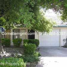 Rental info for 8327 Summerplace Drive in the 95843 area