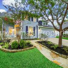 Rental info for Incredible 2 Story w/ POOL & SPA! Backs up to Nature Trail! in the Houston area