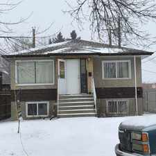 Rental info for Capilano house in the Forest Heights area