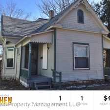 Rental info for 1306/08 S Emporia in the South Central area