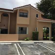 Rental info for 13501 Southwest 62nd Street #5 in the 33183 area