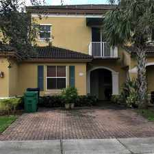 Rental info for 15286 Southwest 88th Terrace in the The Hammocks area