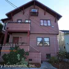 Rental info for 2732 Parker St. - #2732A in the Oakland area