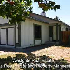 Rental info for 215 Wilford Lane in the Rohnert Park area
