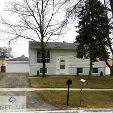 Rental info for 19535 Sycamore Street, Mokena, IL 60448 in the Mokena area
